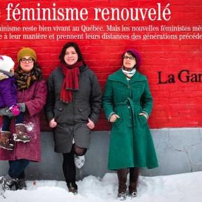 Jeunes féministes à la une!