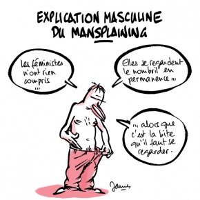 De ma participation contre le mansplaining