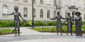 Hommage aux suffragettes